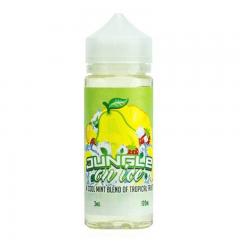 Carter Elixirs Jungle In Ice A Cool Mint Blend Of Tropical Fruits 120мл (3мг) - Жидкость для Электронных сигарет (Clone)