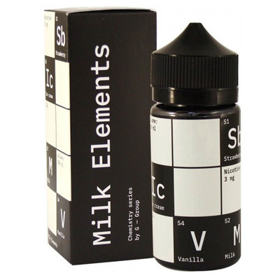 Chemistry Milk Element 100мл (3мг) - Жидкость для Электронных сигарет