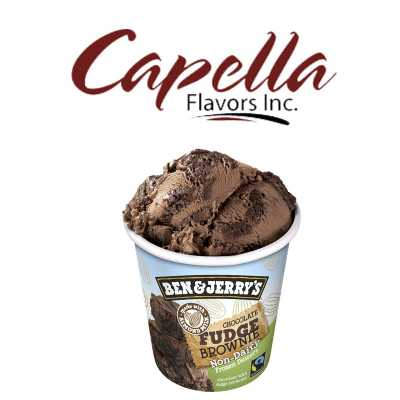Ароматизатор Capella 10мл - Chocolate Fudge Brownie v2