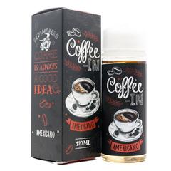 Coffee-In Americano 120мл (3мг) - Жидкость для Электронных сигарет