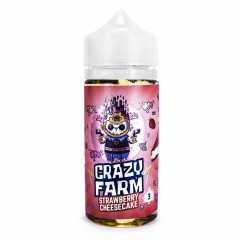 Crazy Farm Strawberry Cheesecake 100мл (3мг) - Жидкость для Электронных сигарет