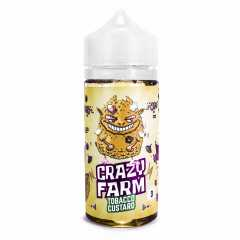 Crazy Farm Tobacco Custard 100мл (3мг) - Жидкость для Электронных сигарет