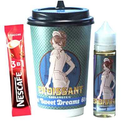 SWEET DREAMS Croissant 60мл (0мг) - Жидкость для Электронных сигарет