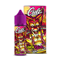 CULT Lemon Killer 60ml (0мг) - Жидкость для Электронных сигарет