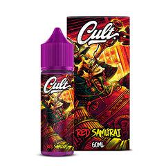 CULT Red Samurai 60ml (0мг) - Жидкость для Электронных сигарет