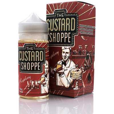 The Custard Shoppe Raspberry 100мл (3) - Жидкость для Электронных сигарет