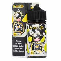 Dairy King Lemon Milk 100мл (3мг) - Жидкость для Электронных сигарет