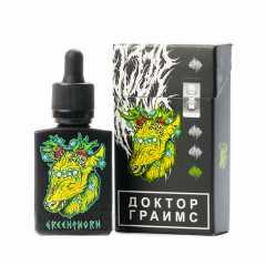 Doctor Grimes Greenthorn 30мл (0мг) с никобустером - Жидкость для Электронных сигарет