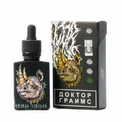Doctor Grimes Tribal Circles 30мл (0мг) с никобустером - Жидкость для Электронных сигарет