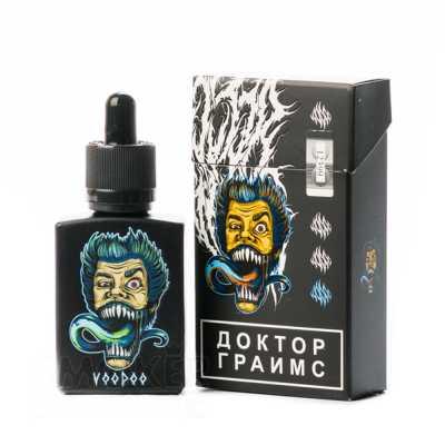 Doctor Grimes Voodoo 2.0 30мл (0мг) с никобустером - Жидкость для Электронных сигарет