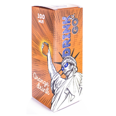 Drink Go Orange 100мл (3мг) - Жидкость для Электронных сигарет