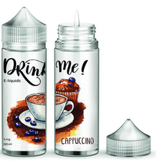 Drink Me Cappuccino 120мл (3мг) - Жидкость для Электронных сигарет