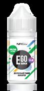 EGO POD 2.0 Зеленый чай+Манго 30ml (18) - Жидкость для Электронных сигарет