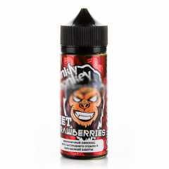 Frankly Monkey Low Cost Sweet Strawberries 120мл (3мг) - Жидкость для Электронных сигарет