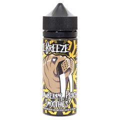 Freeze Breeze Strawberry Peach Smoothies 120мл (3мг) - Жидкость для Электронных сигарет