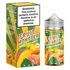 Fruit Monster Mango Peach Guava 100мл (3мг) - Жидкость для Электронных сигарет