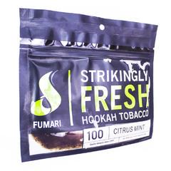 Fumari Citrus Mint 100г - Табак для Кальяна
