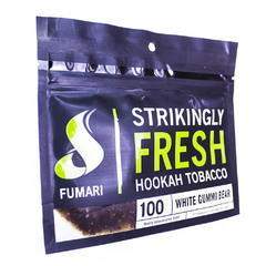 Fumari White Gummi Bear 100г - Табак для Кальяна