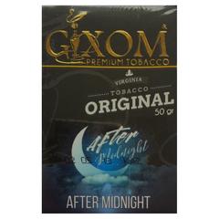 Gixom After Midnight 50г - Табак для Кальяна