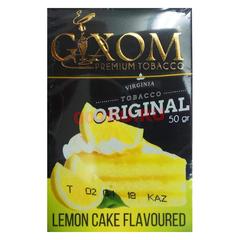 Gixom Lemon Cake 50г - Табак для Кальяна