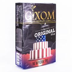 Gixom Newyork Pie 50г - Табак для Кальяна