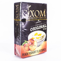 Gixom Peach Yoghurt 50г - Табак для Кальяна