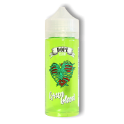 Dope Green Blood 120мл (3мг) - Жидкость для Электронных сигарет