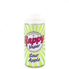 Happy Vaper Sour Apple 120 мл (3мг) - Жидкость для Электронных сигарет