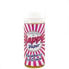 Happy Vaper Raspberry Ice Cream 120 мл (3мг) - Жидкость для Электронных сигарет