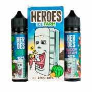 Heroes Ice Farm 120мл (3мг) - Жидкость для Электронных сигарет