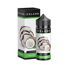 Iceland Coconut 120мл (0мг) - Жидкость для Электронных сигарет