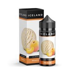 Iceland Peach 120мл (0мг) - Жидкость для Электронных сигарет