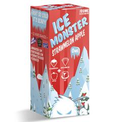 Ice Monster Strawmelon Apple 100мл (3мг) - Жидкость для Электронных сигарет (clone)