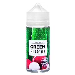 Ice Paradise Green Blood no menthol 100мл (0мг) - Жидкость для Электронных сигарет