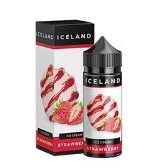 Iceland Ice Cream Strawberry 120мл (3мг) - Жидкость для Электронных сигарет