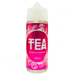 Tea Клубника, Малина 120мл (3мг) - Жидкость для Электронных сигарет