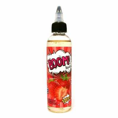Boom Ледяная Клубника 120мл (0) - Жидкость для Электронных сигарет