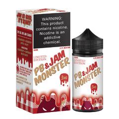 Jam Monster PB Strawberry 100мл (3мг) - Жидкость для Электронных сигарет