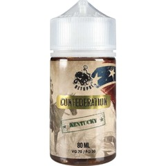 Confederation Kentucky 80мл (0мг) + 2 никобустера - Жидкость для Электронных сигарет