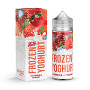 Frozen Yoghurt Клубника - Гранат 120мл (0) - Жидкость для Электронных сигарет