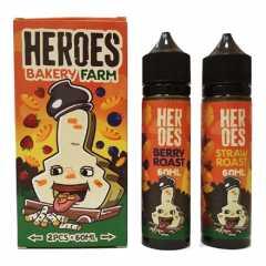 Heroes Bakery Farm 120мл (3мг) - Жидкость для Электронных сигарет