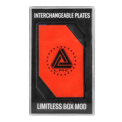 Боксмод Limitless Mod 200w + TC (Черный, Красный)