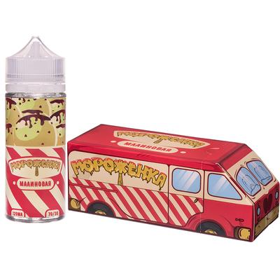 Мороженка Малиновая 120мл (3мг) - Жидкость для Электронных сигарет