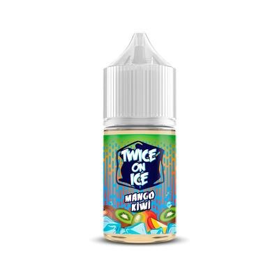 Twice On Ice SALT Mango Kiwi 30ml (25мг) - Жидкость для Электронных сигарет