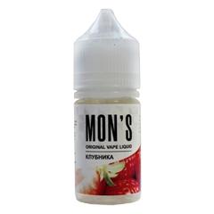 Mons Клубника 30мл (6мг) - Жидкость для Электронных сигарет