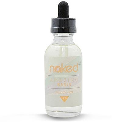 Naked Amazing Mango 60мл (3) - Жидкость для Электронных сигарет (clone)