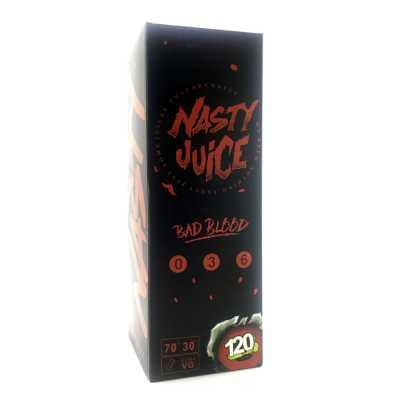Nasty Juice Bad Blood 120мл (3мг) - Жидкость для Электронных сигарет (Clone)