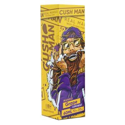 Nasty Juice Cush Man Mango Grape Low Mint 120мл (3мг) - Жидкость для Электронных сигарет (Clone)