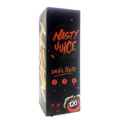 Nasty Juice Devil Teeth 120мл (3мг) - Жидкость для Электронных сигарет (Clone)