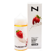 Nice Strawberry Milk 100мл (3мг) - Жидкость для Электронных сигарет
